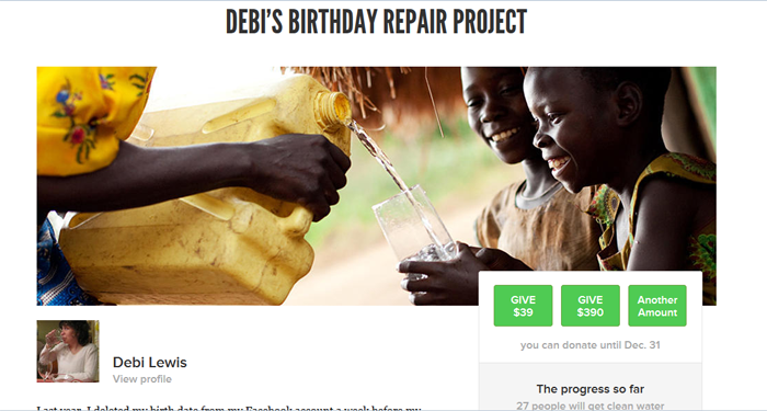 Online Giving, Personalized: An Experiment