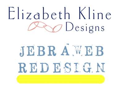 Jebraweb Redesign Case Study: Elizabeth Kline Designs