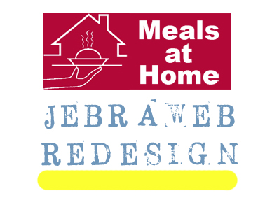 Jebraweb Redesign Case Study: Meals at Home